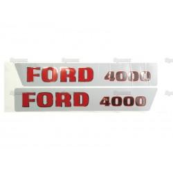 Emblemsæt Ford 4000