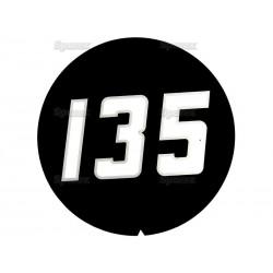 Emblem sæt MF 135