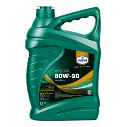 Gearolie 80W/90 5 liter